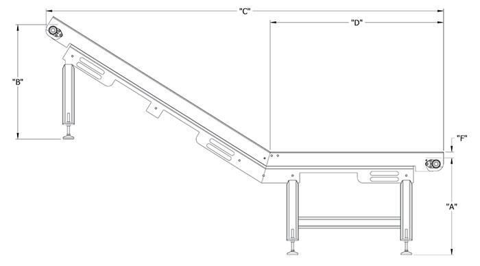 Fusion Tech flat incline conveyors image 1