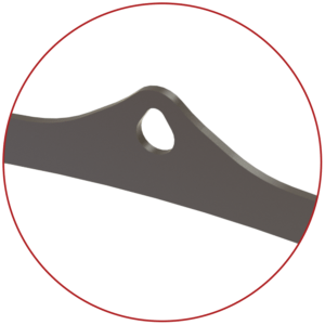 gambrel tear drop design