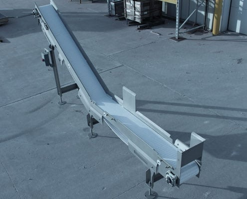 stainless steel sanitary conveyor