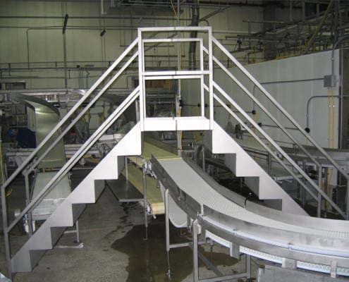 crossover stairs
