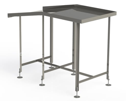 stainless steel slide tables