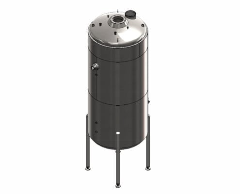 stainless steel vacuum tanks