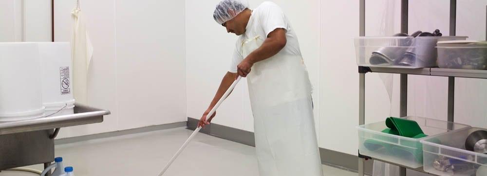meat cutting sanitation
