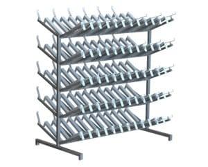 boot racks changing room equipment
