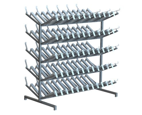 boot racks changing room equipment