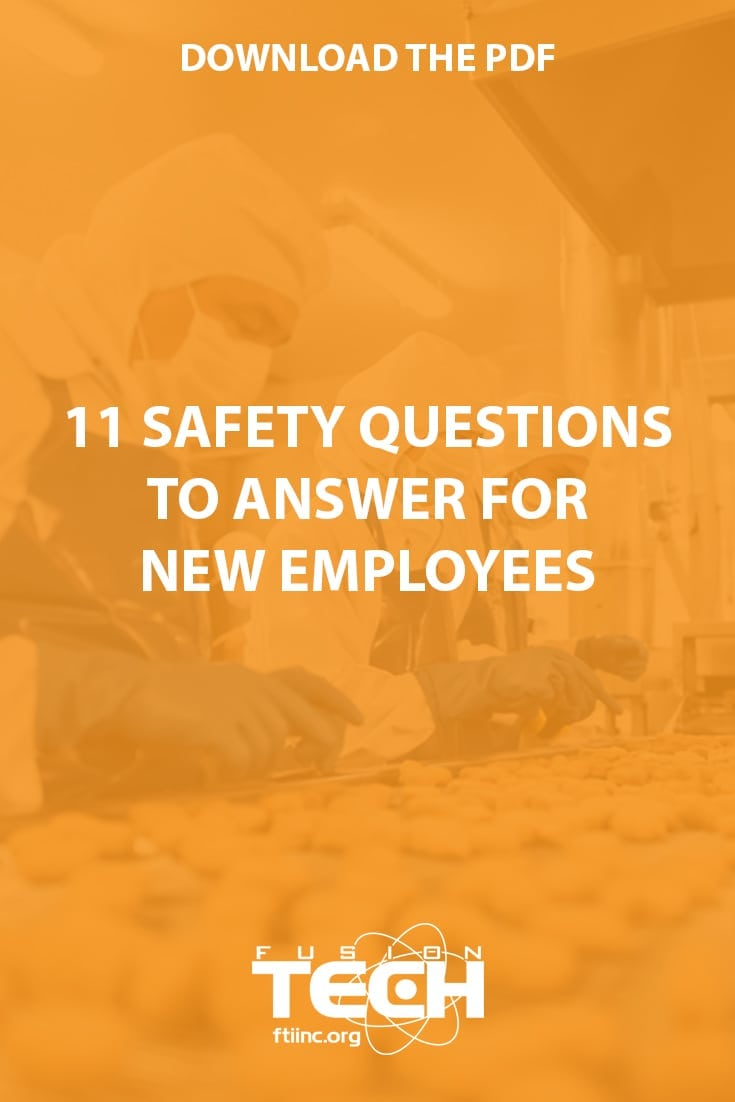 11 safety questions download