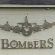 macomb higg bombers plane sign