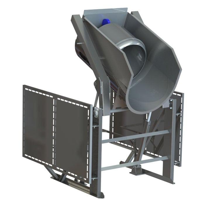 A-12987 barrel dumper gondola dumper