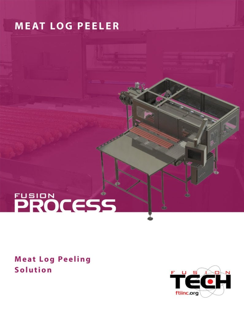 Meat Log Peeler Catalog Cover