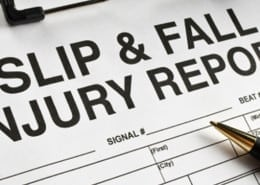 slips and falls report