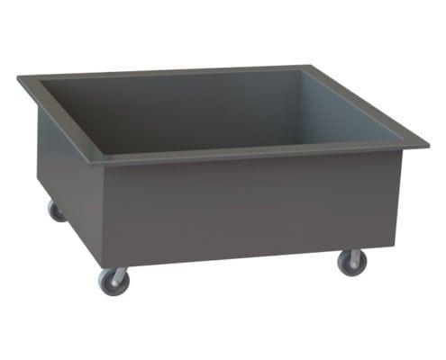 A-12505 wheeled vat