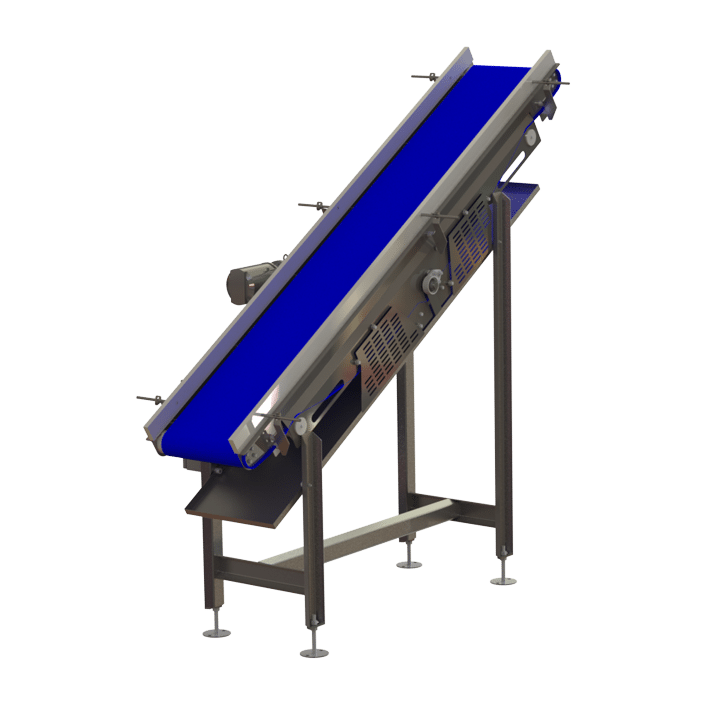 conveyor guide rails