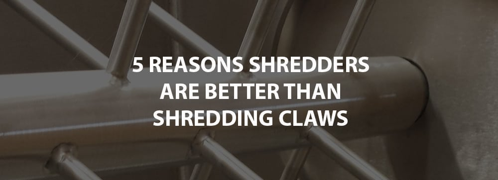 5 reasons meat shredders better shredding claws