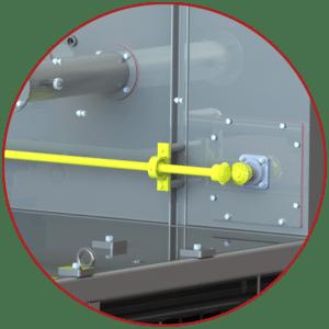 oven damper system