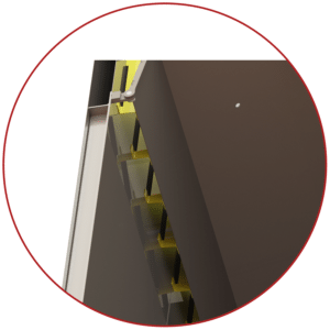 ovens supply duct slots