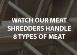 meat shredders handle 8 different types of meat