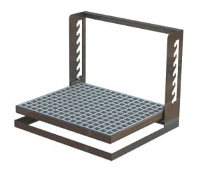 erg-100 ergonomic stand