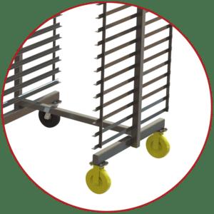 nesting truck 2 wheel design