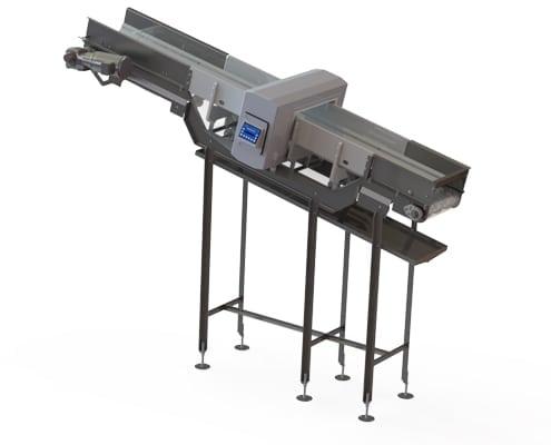 metal detector conveyor rendering