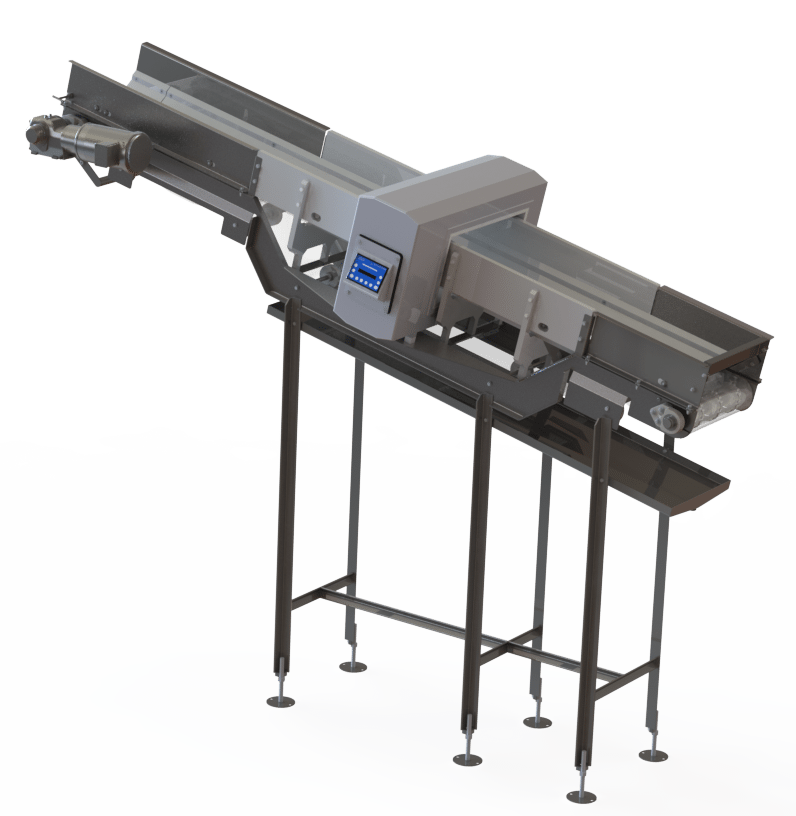 A-07615 Metal Detector Conveyor2