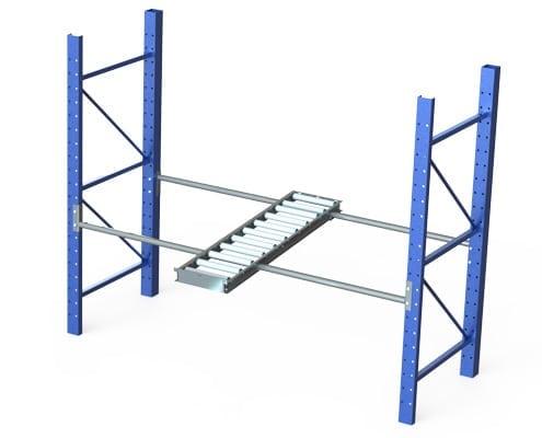pipe rack roller conveyor
