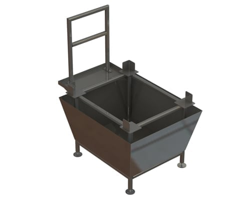 RMS18629 chemical tote containment tank
