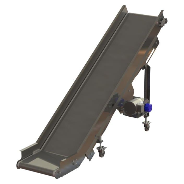 flat incline conveyor