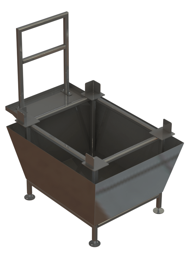 Chemical Tote Containment Tank   Fusion Tech Integrated, Inc.