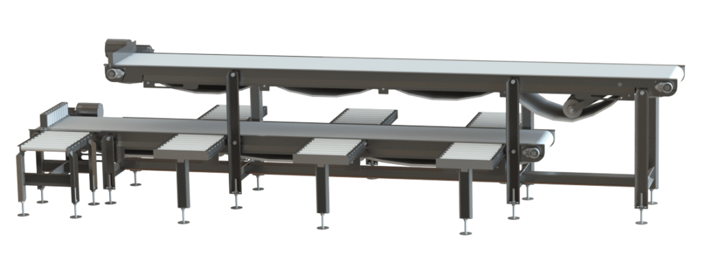 10067 Two Tier Pack Off Stations