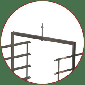 A-11628 trolley tree bolt design