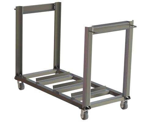 A-12168 screen wash cart