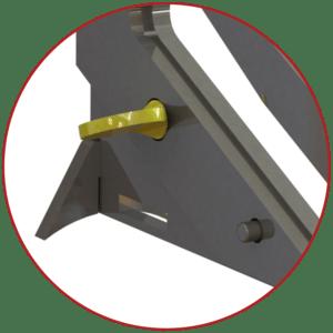 netting cutter thumb screw