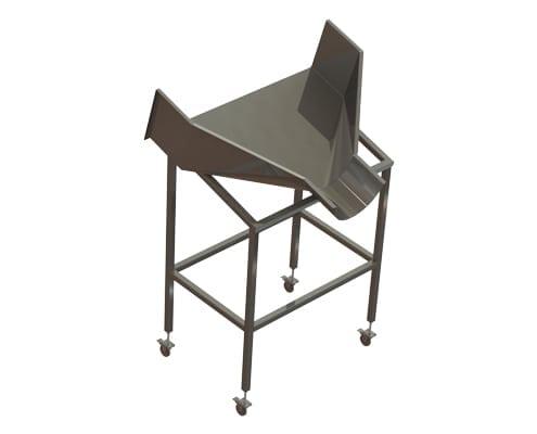 A-12284 Dumper Chute Cart