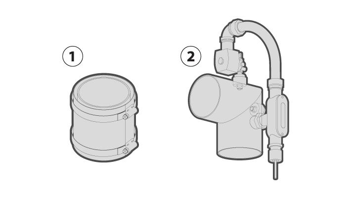 Smoke Generator Piping Included