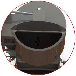 Smoke Generator Hopper