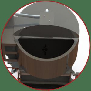 Smoke Generator Hopper