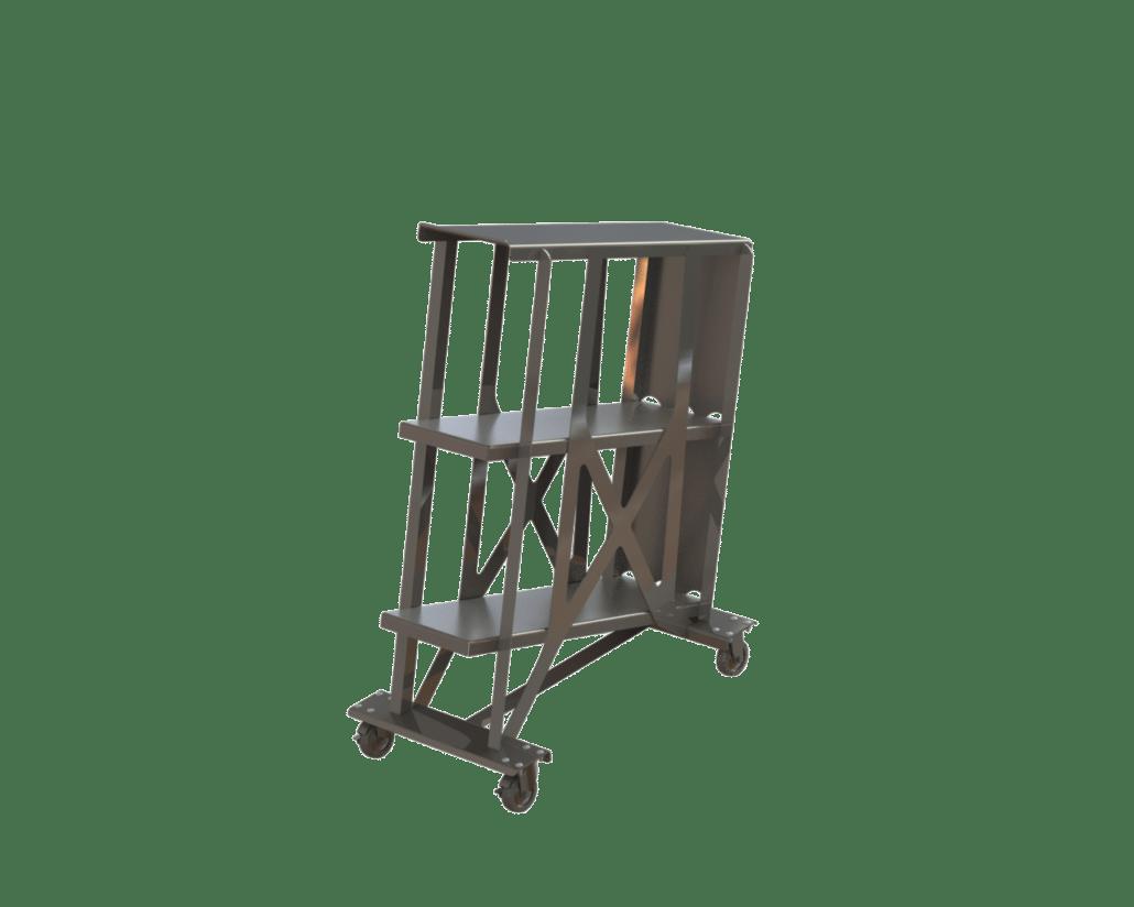 smoke stick cart