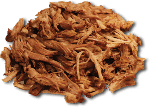 pork shredded meat