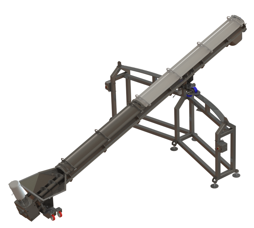 pivoting augers