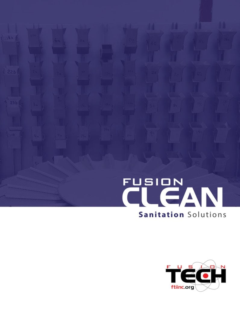 Fusion Clean catalog cover