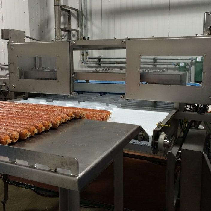 meat log peelers