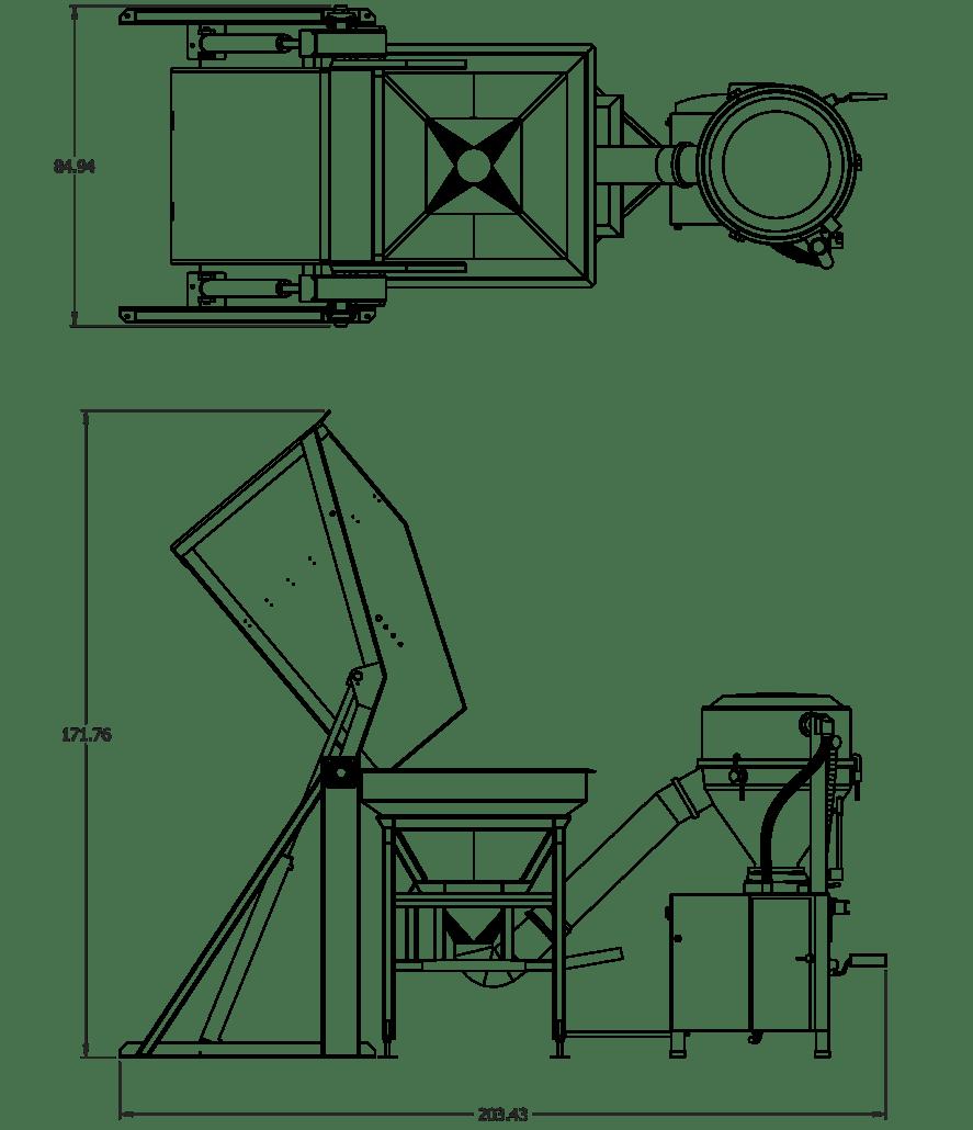 Tall System dimensions