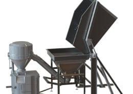 vacuum filler feeding system