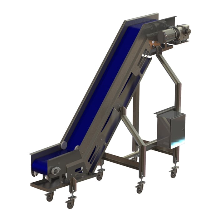 sh-5 infeed conveyor