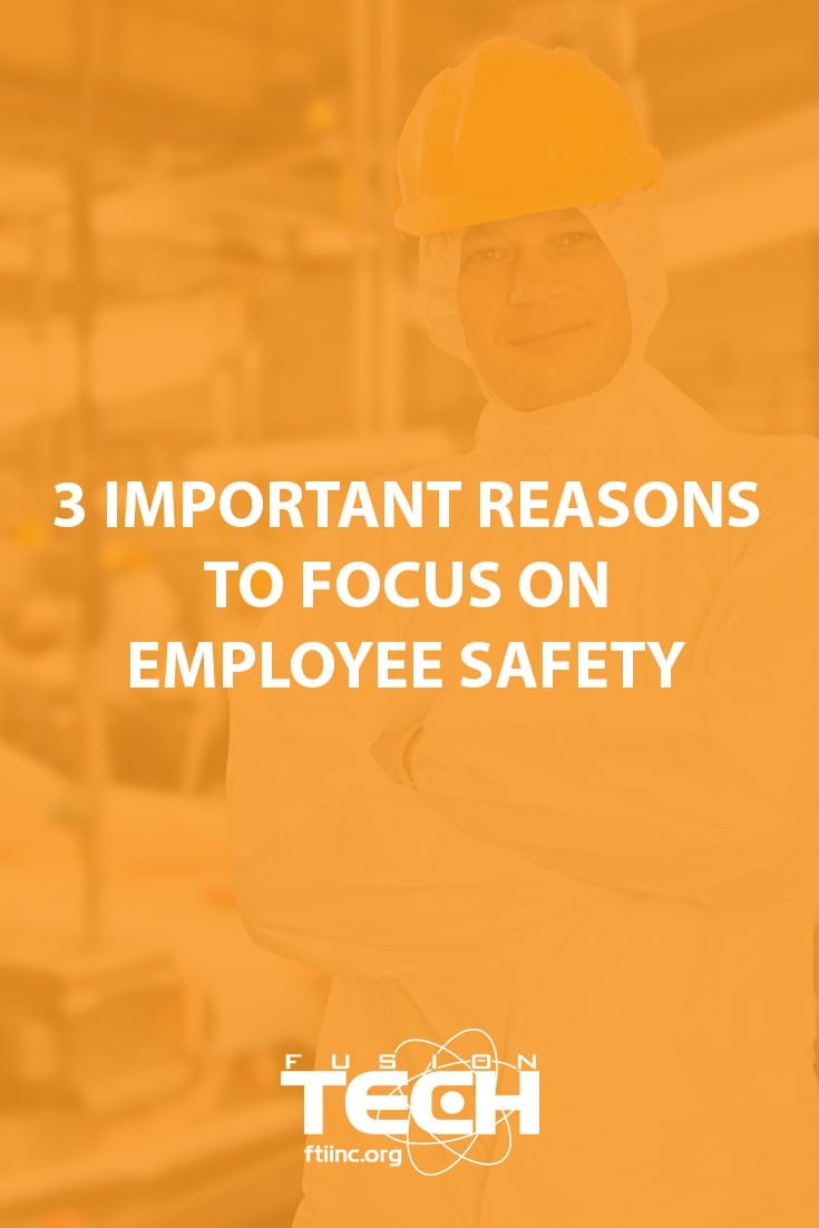 Three great reasons why food processing plants should focus on employee safety.