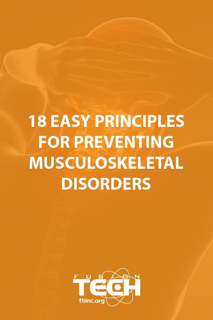Follow these tips to prevent musculoskeletal disorders from developing in employees at your food processing facility.