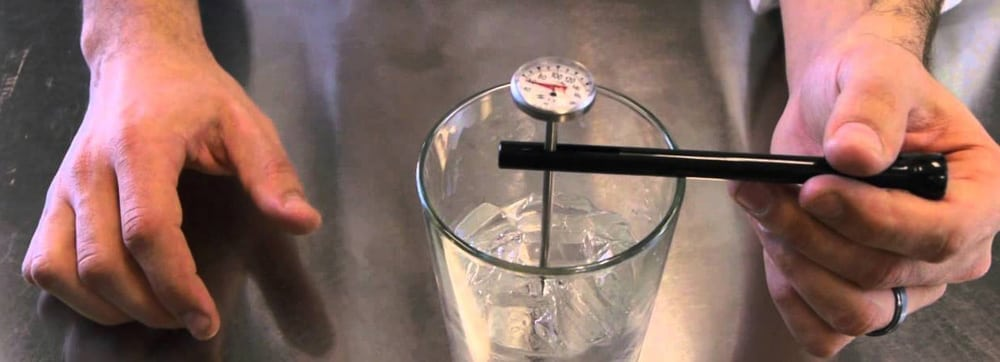thermometer calibration log