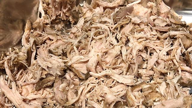 shredded chicken breast
