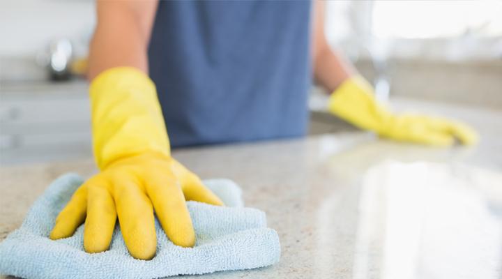covid-19 clean home