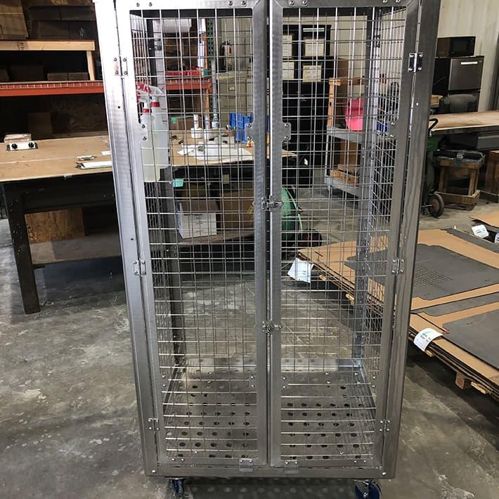 A-73553 Locking Sanitation Cart